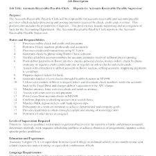 Accounts Payable Resume Summary Accounts Payable Clerk Resume Senior Accounts Payable Clerk Resume