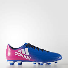 adidas 037001. adidas - men\u0027s x 16.4 flexible ground boots blue/footwear white/shock pink bb1037 037001 i