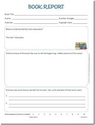 book template doc printable book template for kids free report templates non fiction