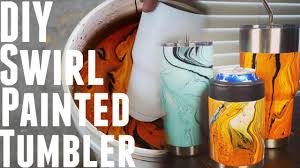 diy how to make swirl spray painted yeti ozark trail rec pro you