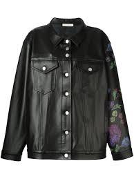 alyx oversized leather jacket black women clothing jackets alyx machine side effects official uk stockists