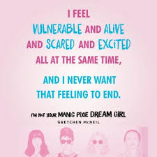 Dream Girl Quotes Best Of I'M NOT YOUR MANIC PIXIE DREAM GIRL Quote 24 Bookish Quotes