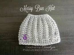 Crochet Bun Hat Free Pattern Enchanting The Best Free Crochet Ponytail Hat Patterns Aka Messy Bun Beanies
