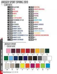 Badger Softball Pants Size Chart Badger Apparel 2019