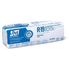 johns manville r19 unfaced fiberglass insulation batt high resolution image