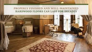 hardwood floors can last for decades