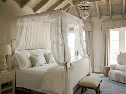 It opens up the bed to the room a great deal more, and you're able to see  more of the bed frame, but it's still a very traditional look.