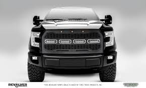 t rex ford f150 revolver series w forward facing camera t rex ford f150 revolver series w forward facing camera main replacement grille w 4 6 slim line single row led light bar includes universal