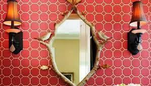 Unusual Bathroom Mirrors Unusual Bathroom Mirrors Awesome And Easy Decor Trick Youtube