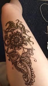 Leg Henna For Summer Mehendi хна цветы татуировки рисунки Und