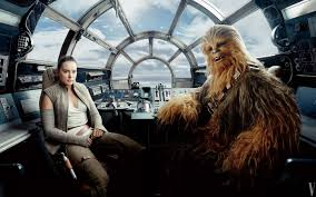 star wars the last jedi chewbacca rey