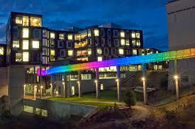 Pittsburgh Social Lights Randy Pausch Memorial Bridge Carnegie Mellon University