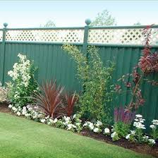 privacy fence painting painted privacy fence n16