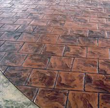12 X 12 Decorative Tiles 60 Slate Tile Running Bond MATCRETE Decorative Concrete Products 29