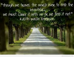 Quotes About Beauty In Nature Google Search Words For Thought Custom Emerson Nature Quotes