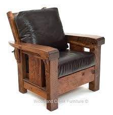 cabin recliner rustic chair lodge club chair lounge chair leather recliner with ottoman power recliner chair