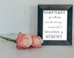Remembrance Quotes For Loved Ones Memory QuoteMemory PrintIn memory of posterIn memory of 70