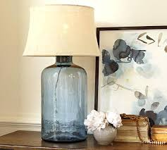 blue table lamps bedroom light blue lamp base blue table lamps bedroom big navy glass jar table lamp home design app review