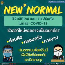 New Normal ชีวิตวิถีใหม่ และการปรับตัวในภาวะ COVID-19