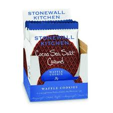 stonewall kitchen cocoa sea salt caramel waffle cookie marketplace