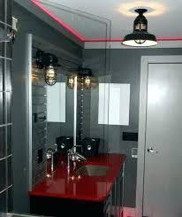 industrial bathroom vanity lighting. Industrial Bathroom Vanity Cool Light Fixtures Sconce Lights Pottery Barn Gorgeous Vintage Lighting