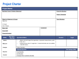 Lean Six Sigma Storyboard Template By Operational Excellence Consulti