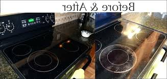 clean glass cooktop vinegar 9 luxury how to clean your stove top with baking soda and