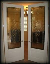 french door glass insert french door with leaded glass insert french door glass insert with white