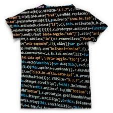 <b>Футболка с полной</b> запечаткой (мужская) Компьютерный код ...