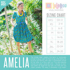 Check Out This Size Chart For Lularoe Amelia If You Need