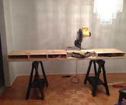 portable chop saw table. build a miter saw table - i made it at techshop: 4 steps (with pictures) portable chop