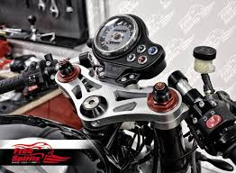 racer yokes triumph classic for speed triple 1050 usd fork silver