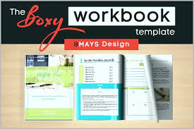 Staff Signing In Book Template Inspirational Boxy Workbook Layout
