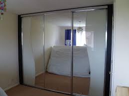 Marvelous Bathroom Bedrooms Grey Sliding Wardrobe Doors Closet ...