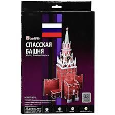 """<b>CubicFun</b> """"<b>Спасская башня</b>"""", 33 элемента — купить в интернет ..."""