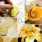 Мастер-класс по изготовлению бумажных цветов