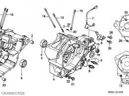 honda nv400c steed 1995 s singapore kph parts lists and schematics honda nv400c steed 1995 s singapore kph crankcase