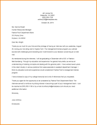Example Thank You Letter For Interview Filename Isipingo Secondary