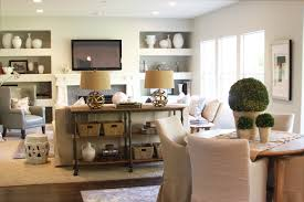 sofa table in living room. Endearing Living Room Sofa Table And Indsutrial Console Transitional Alice Lane Home In T