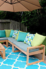 free diy outdoor sofa plans with couch diy