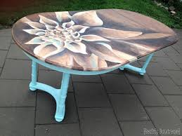 dahlia dining table using wood stain