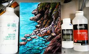 how to varnish your acrylic painting tips and tricks