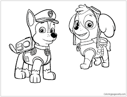The Best Free Chase Coloring Page Images Download From 210 Free