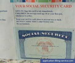 Required Social Security You Out What Fill Application Documentation Replacement When Online A Is Card