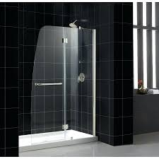lrge imge dremline cler glss dreamline shower door installation