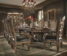 villa valencia rectangular dining room set aico furniture