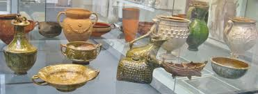 r antiquities in the british museum a photo essay clio examples of lead glazed pottery from various dates and locations around the empire