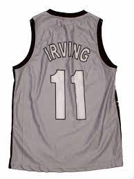 Brooklyn Nets 11 Kyrie Irving Basketbol Forma - T-Shirt 35