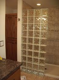 glass blocks for bathroom walls block shower stalls bing pertaining to remodel 19