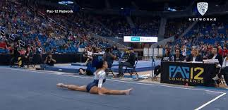 floor gymnastics moves. VIDEO: UCLA Gymnasts Floor Routine Goes Viral Gymnastics Moves